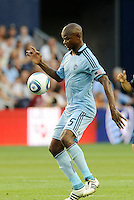 Sporting KC midfielder Julio Cesar in action... Sporting KC defeated Vancouver Whitecaps 2-1 at LIVESTRONG Sporting Park, Kansas City, Kanas.