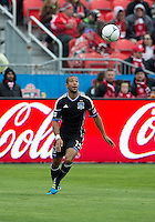 24 March 2012: San Jose Earthquakes defender/midfielder Justin Morrow #15 in action during a game between the San Jose Earthquakes and Toronto FC at BMO Field in Toronto..The San Jose Earthquakes won 3-0..