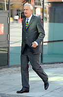 &copy; Licensed to London News Pictures. 27/09/2011. LONDON, UK. Jon Snow at The Labour Party Conference in Liverpool today (27/09/11). Photo credit:  Stephen Simpson/LNP