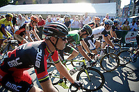 Thor Hushovds (NOR/BMC) starts his farewell race<br /> <br /> GP Impanis 2014