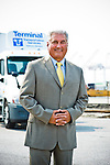 8/17/12 Baltimore, MD: Terminal Transportation Service's President Tom Huesman.