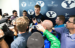 16-17 BYU Men's Basketball - Eric Mika Press Conference