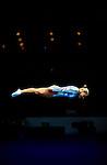 Trampoline, women. Jennifer Parilla (USA), Summer Olympics, Sydney, Australia, September 2000