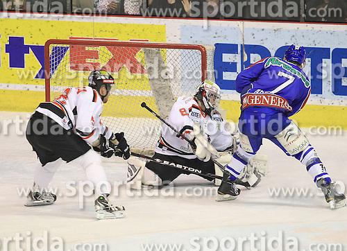 30.12.2011, Dom Sportova, Zagreb, CRO, EBEL, KHL MEDVESCAK ZAGREB vs HC Orli Znojmo Amad Naglich during EBEL Eishockey game between Medvescak KHL Zagreb and HC Orli Znojmo at Dom Sportava in Zagreb, Croatia on 2011/12/30. EXPA Pictures © 2011, PhotoCredit: EXPA/ Pixsell/ Antonio Bronic..***** ATTENTION - OUT OF GER, CRO *****