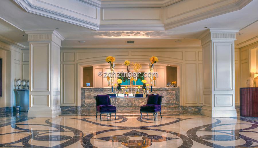 Ritz-Carlton Laguna Niguel CA, Lobby Reception Desk, Dana Point