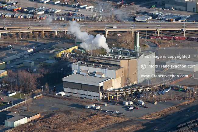 Quebec city incinerator is pictured in this aerial photo November 11, 2009.