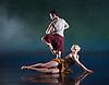 Terra Incognita<br /> by Shobana Jeyasingh <br /> Music by Gabriel Prokofiev<br /> Designed by Jean-Marc Puissant <br /> Lighting by Lucy Carter <br /> Rambert Dance at Sadler's Wells, London, Great Britain <br /> 18th November 2014 <br /> rehearsal <br /> <br /> <br /> <br /> Dane Hurst <br /> <br /> <br /> <br /> Simone Damburg Wurtz<br /> <br /> <br /> <br /> <br /> Photograph by Elliott Franks <br /> Image licensed to Elliott Franks Photography Services