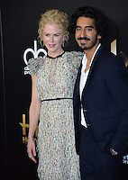 BEVERLY HILLS, CA. November 6, 2016: Actress Nicole Kidman &amp; actor Dev Patel at the 2016 Hollywood Film Awards at the Beverly Hilton Hotel.<br /> Picture: Paul Smith/Featureflash/SilverHub 0208 004 5359/ 07711 972644 Editors@silverhubmedia.com