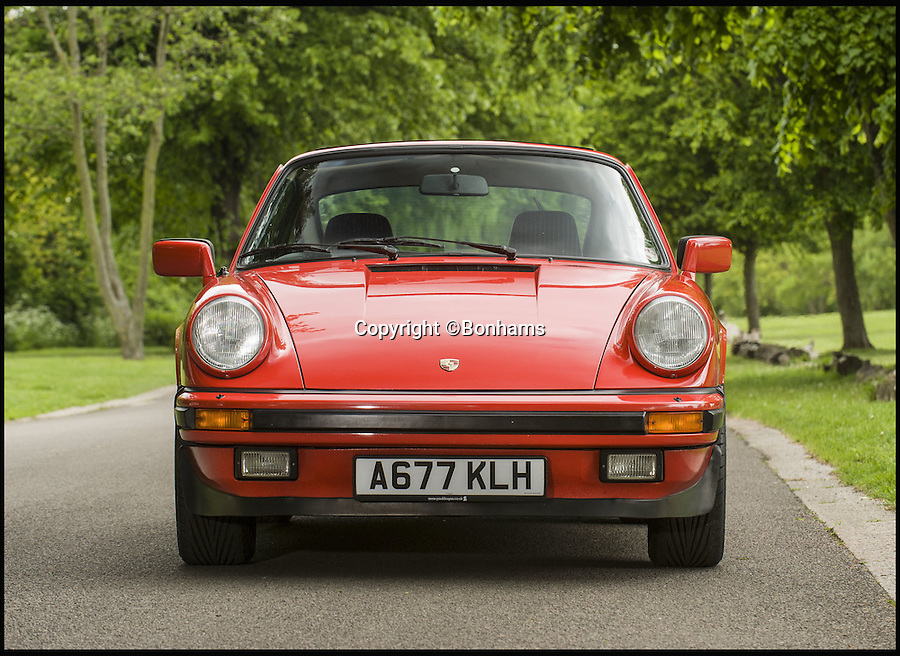 BNPS.co.uk (01202 558833)<br /> Pic: Bonhams/BNPS<br /> <br /> Jobless Top Gear host James May is selling his beloved 1984 Porsche for &pound;35,000 just weeks after flogging off a collection of his motorbikes for thousand of pounds.<br /> <br /> The presenter, who has been out of work since co-host Jeremy Clarkson was sacked for punching a producer, bought the Porsche 911 Carrera Coupe in 2007 after falling in love with it during filming.<br /> <br /> He has loaned it to his father, also called James, for the last four years because he had never owned a sports car before.<br /> <br /> The Porsche is being sold by auctioneers Bonhams at its Goodwood Festival of Speed sale on June 26.