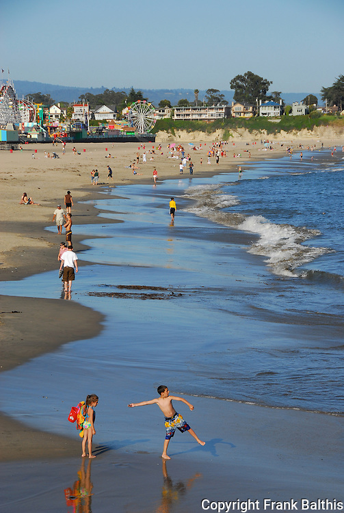 Main Beach in Santa Cruz
