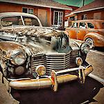 Retro vintage automobile