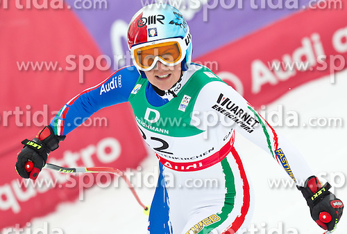 13.02.2011, Kandahar, Garmisch Partenkirchen, GER, FIS Alpin Ski WM 2011, GAP, Damen Abfahrt, im Bild Daniela Merighetti (ITA) // Daniela Merighetti (ITA) during womens Downhill, Fis Alpine Ski World Championships in Garmisch Partenkirchen, Germany on 13/2/2011, 2011, EXPA Pictures © 2011, PhotoCredit: EXPA/ J. Feichter