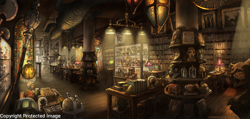Papa searches for an ancient book of Smurf history, and finds it in this mysterious old bookstore.
