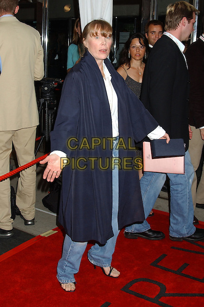 "SISSY SPACEK.""North Country"" Premiere at The Roy Thomson Hall,.Toronto Film Festival,.Toronto, 12th September 2005.full length navy coat baggy denim jeans white shirt.Ref: FARR.www.capitalpictures.com.sales@capitalpictures.com.© Capital Pictures."