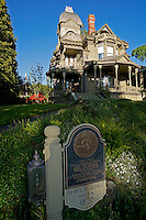 The Gamwell Victorian mansion in the historical Fairhaven district of Bellingham, Washington state, USA