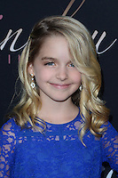HOLLYWOOD, CA - SEPTEMBER 06: McKenna Grace at the premiere of 'Mr. Church' at ArcLight Hollywood on September 6, 2016 in Hollywood, California. Credit: David Edwards/MediaPunch