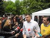 Wahlkampf von Nikolai Barekov in Bulgarien