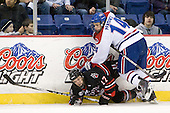 Steve Silva (Northeastern - 17), Joseph Pendenza (Lowell - 14) - The visiting Northeastern University Huskies defeated the University of Massachusetts-Lowell River Hawks 3-2 with 14 seconds remaining in overtime on Friday, February 11, 2011, at Tsongas Arena in Lowelll, Massachusetts.