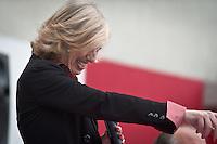 Il Ministro all'Istruzione del Governo Renzi Stefani Giannini a Silvi (TE), 27 Marzo 2015 - The minister of education Stefania Giannini, on MArch 27, 2015. Photo: Adamo Di Loreto/BuenaVista*photo