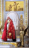 Bartholomew I and  Benedict XVI, ceremony in memory of St. Paul,at St. Paul's Basilica.June 28, 2008