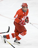 Dane Hetland (MiamiU - Bridgeville, PA) - The Boston College Eagles defeated the Miami University Redhawks 4-0 in the 2007 NCAA Northeast Regional Final on Sunday, March 25, 2007 at the Verizon Wireless Arena in Manchester, New Hampshire.