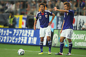 (L to R) Hiroshi Kiyotake, Kousuke Yamamoto (JPN), JUNE 19th, 2011 - Football : Asian Men's Football Qualifiers Round 2 Olympic Football Tournaments London Qualification Round match between U-22 Japan 3-1 U-22 Kuwait at Toyota Stadium in Aichi, Japan. (Photo by Akihiro Sugimoto/AFLO SPORT)