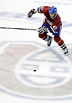 16 January 2007: Montreal Canadiens right wing forward Aaron Downey in action against the Vancouver Canucks at the Bell Centre in Montreal, Canada. The Canucks defeated the Canadiens 4-0.