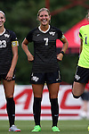 04 September 2015: Wake Forest's Sarah Teegarden. The Wake Forest University Demon Deacons played the William & Mary University Tribe at Dail Soccer Field in Raleigh, NC in a 2015 NCAA Division I Women's Soccer game. The game ended in a 1-1 tie.