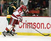 Andrew Himelson (Clarkson - 26), Tommy O'Regan (Harvard - 13) - The Harvard University Crimson defeated the visiting Clarkson University Golden Knights 3-2 on Harvard's senior night on Saturday, February 25, 2012, at Bright Hockey Center in Cambridge, Massachusetts.