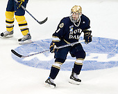 Ryan Thang (Notre Dame - 9) - The University of Notre Dame Fighting Irish defeated the University of Michigan Wolverines 5-4 in overtime in their 2008 Frozen Four Semi-Final matchup on Thursday, April 10, 2008, at the Pepsi Center in Denver.
