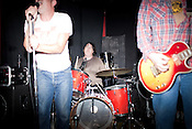 October 25, 2011. Durham, NC.. The Ghost of Rock played a reunion show with Shonen Knife at the Pinhook..