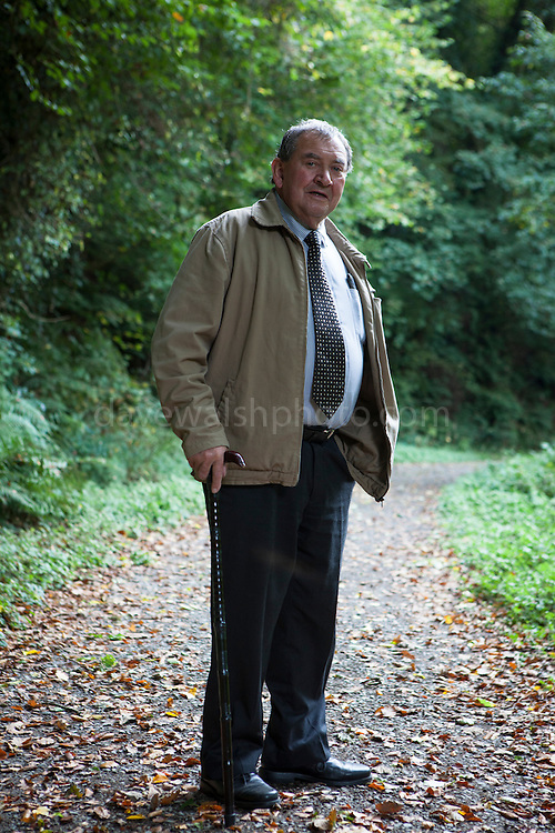 My dad, Jim, at Eden Vale, Wexford.