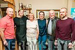 70th Birthday : Mary Scanlan, Listowel celebrating her 70th birthday with family at John B. Keanes Bar, Listowel on Saturday night last. L-R: John Hickey, Jennifer Scanlan, Mary Scanlan, Roisin Hickey, Buddy & Brian Scanlan.