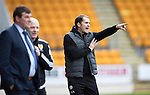 St Johnstone v Partick Thistle&hellip;29.10.16..  McDiarmid Park   SPFL<br />Alan Archibald, Thistle manager<br />Picture by Graeme Hart.<br />Copyright Perthshire Picture Agency<br />Tel: 01738 623350  Mobile: 07990 594431