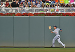 29 September 2012: Detroit Tigers outfielder Quintin Berry in action against the Minnesota Twins at Target Field in Minneapolis, MN. The Tigers defeated the Twins 6-4 in the second game of their 3-game series. Mandatory Credit: Ed Wolfstein Photo