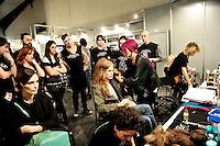 Backstage Duyos Mercedes-Benz Fashion Week 2013