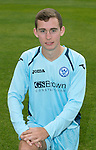 St Johnstone FC Season 2012-13 Photocall.Chris Moffat.Picture by Graeme Hart..Copyright Perthshire Picture Agency.Tel: 01738 623350  Mobile: 07990 594431