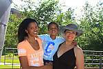 07-06-13 Renee Elise Goldsberry - son Benjamin - mom Betty - Animal Crackers