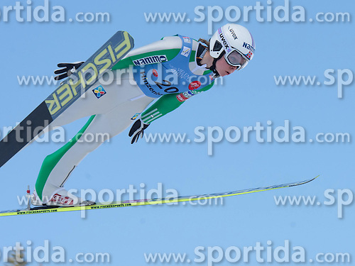 31.01.2015, Energie AG Skisprung Arena, Hinzenbach, AUT, FIS Ski Sprung, FIS Ski Jumping World Cup Ladies, Hinzenbach, Wettkampf im Bild Maren Lundby (NOR) // during FIS Ski Jumping World Cup Ladies at the Energie AG Skisprung Arena, Hinzenbach, Austria on 2015/01/31. EXPA Pictures © 2015, PhotoCredit: EXPA/ Reinhard Eisenbauer
