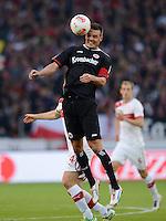 FUSSBALL   1. BUNDESLIGA  SAISON 2012/2013   9. Spieltag   VfB Stuttgart - Eintracht Frankfurt      28.10.2012 Alexander Maier (Eintracht Frankfurt) am Ball