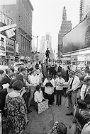 Manhattan, New York City, NY. August 26th, 1970.<br /> Feminists march in New York City on August 26, 1970 on the 50th anniversary of the passing of the Nineteenth Amendment which granted American women full suffrage. The National Organization for Women (NOW) called upon women nationwide to &quot;strike for equality&quot; on that day.