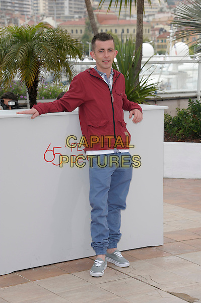 Paul Brannigan.'The Angel's Share' photocall at the 63rd International Cannes Film Festival, France 22nd May 2012.full length red top jeans denim.CAP/PL.©Phil Loftus/Capital Pictures.