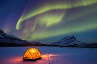 Aurora & Tent Camp
