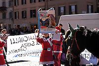 Animalisti in difesa dei Cavalli