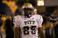 01 December 2007: LeSean McCoy..The Pitt Panthers upset the West Virginia Mountaineers 13-9 on December 01, 2007 in the 100th edition of the Backyard Brawl at Mountaineer Field, Morgantown, West Virginia.