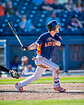 1 March 2017: Houston Astros outfielder Josh Reddick in Spring Training action against the Miami Marlins at the Ballpark of the Palm Beaches in West Palm Beach, Florida. The Marlins defeated the Astros 9-5 in Grapefruit League play. Mandatory Credit: Ed Wolfstein Photo *** RAW (NEF) Image File Available ***