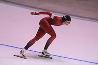 SPEEDSKATING: CALGARY: 14-11-2015, Olympic Oval, ISU World Cup, 1000m B-division, Hege Bøkko (NOR), ©foto Martin de Jong