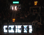 "The lights go out during Ole Miss vs. Arkansas at the C.M. ""Tad"" Smith Coliseum in Oxford, Miss. on Saturday, January 19, 2013. Mississippi won 76-64. (AP Photo/Oxford Eagle, Bruce Newman)"