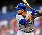 23 April 2010: Los Angeles Dodgers' first baseman James Loney in action against the Washington Nationals at Nationals Park in Washington, DC. The Nationals defeated the Dodgers 5-1 in the first game of their 3-game series. Mandatory Credit: Ed Wolfstein Photo