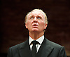 King Charles III<br /> at Wyndhams Theatre, Charing Cross Road, London, Great Britain <br /> press photocall <br /> 8th September 2014 <br /> <br /> Tim Pigott-Smith as Charles<br /> <br /> <br /> Photograph by Elliott Franks <br /> Image licensed to Elliott Franks Photography Services